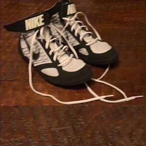 Nike Wrestling Shoes. Size 8.5. Used